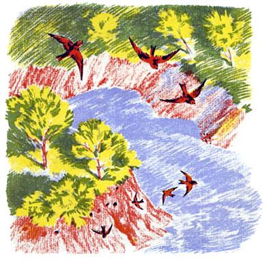 бианки лесные домишки читать с картинками